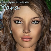Yara for Vicky 4 3D Figure Assets 3D Models HandspanStudios