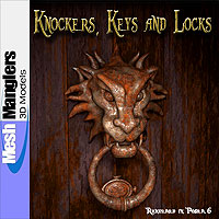 Knockers, Keys and Locks 3D Models keppel