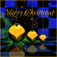 Merry Christmas Backgrounds 3D Models 2D Makena