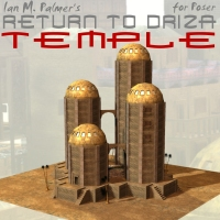 Return To Driza: Temple 3D Models IanMPalmer