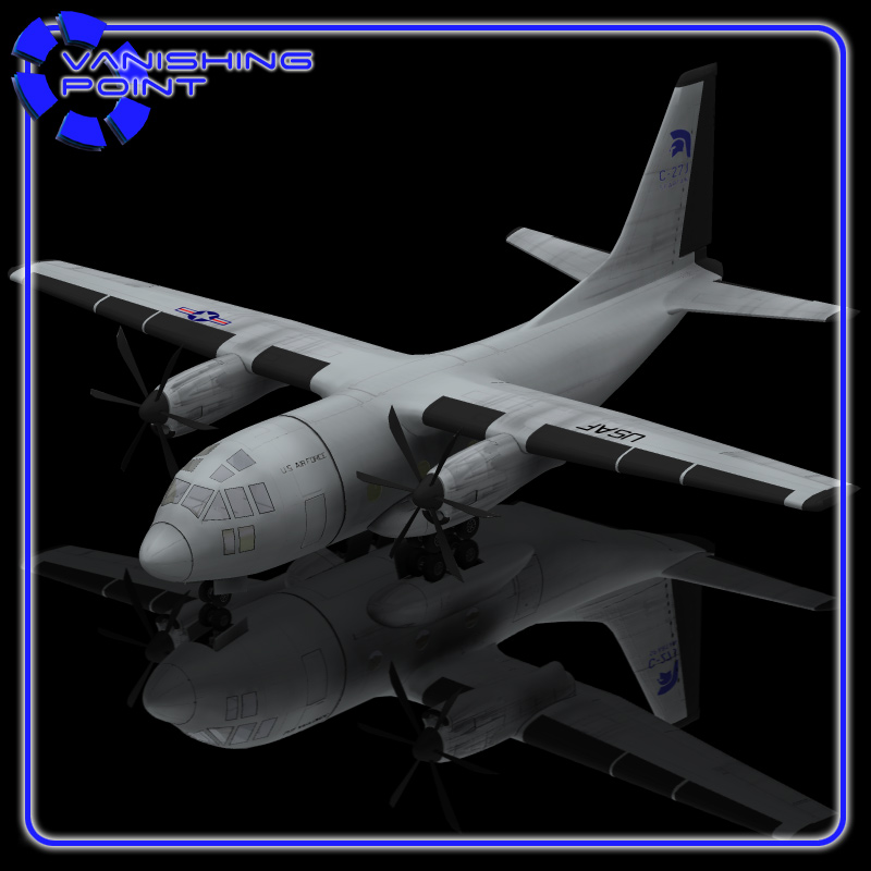 C-27 Aircraft  for Poser