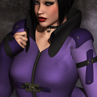 Mortianna's Hollow Sin: Outfit for V4 image 2