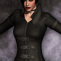 Mortianna's Hollow Sin: Outfit for V4 image 4
