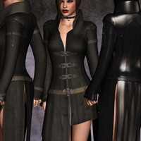 Mortianna's Hollow Sin: Outfit for V4 image 5
