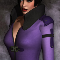 Mortianna's Hollow Sin: Outfit for V4 image 7