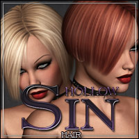 Hollow Sin Hair 3D Models 3D Figure Assets outoftouch