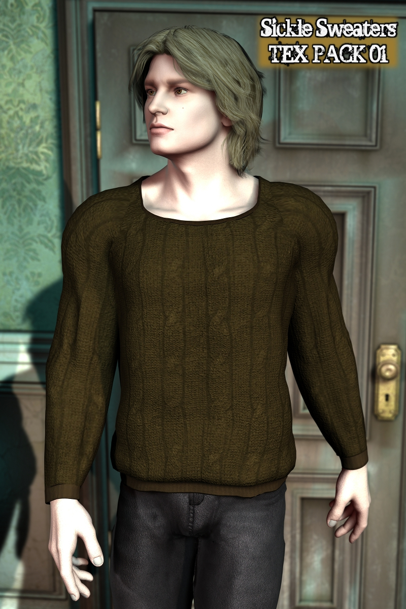 Sickle SWEATERS Texture Pack 01