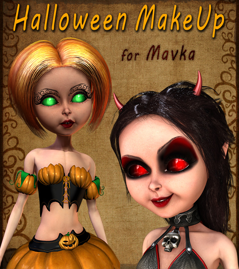 Halloween MakeUp for Mavka