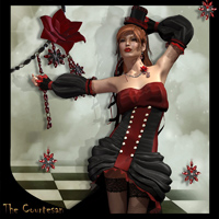 The Courtesan Outfit 3D Figure Essentials SWAM