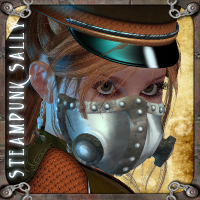 SteamPunk Sally for V4 3D Figure Essentials orion1167