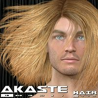 Akaste Hair 3D Figure Assets 3Dream