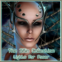 The Skin Collection - Lights For Poser Software nikisatez