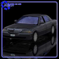 Luxury Sedan Car (for Poser) Transportation Themed VanishingPoint