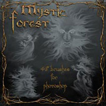 Mystic Forest 3D Models 2D Graphics ilona