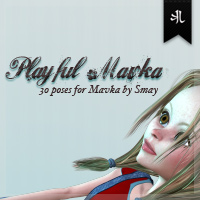 Playful Mavka Poses Themed Poses/Expressions Stand Alone Figures kjherstin