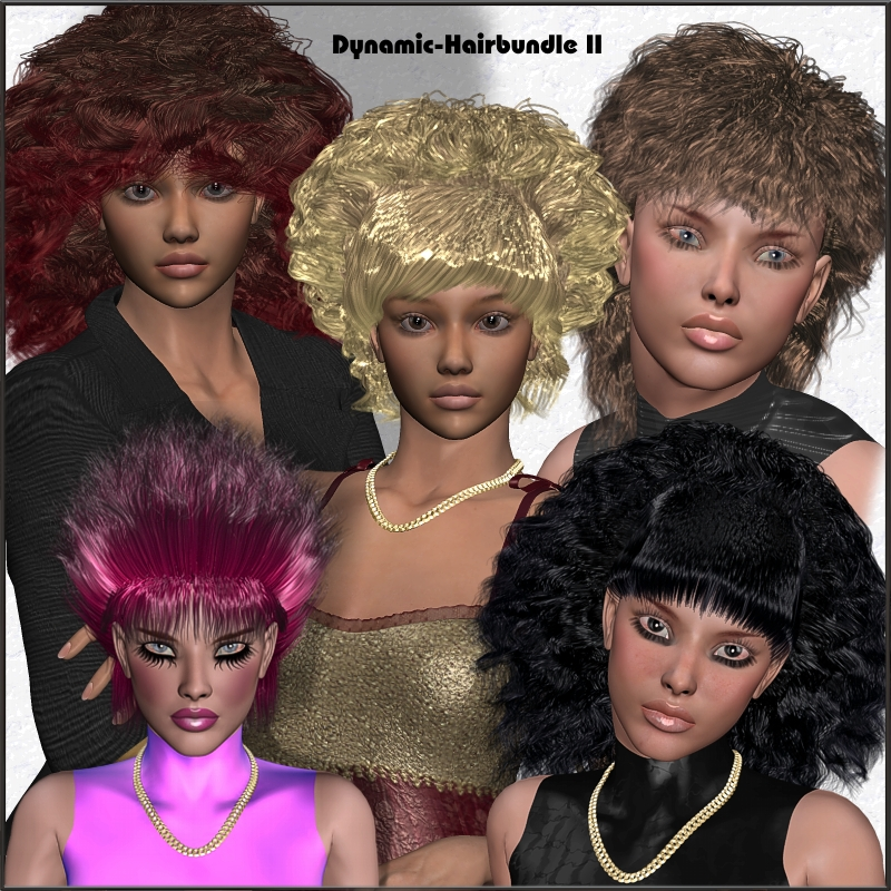 Dynamic-Hair-Bundle II