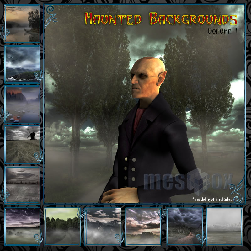 Meshbox Haunted Backgrounds Volume 1