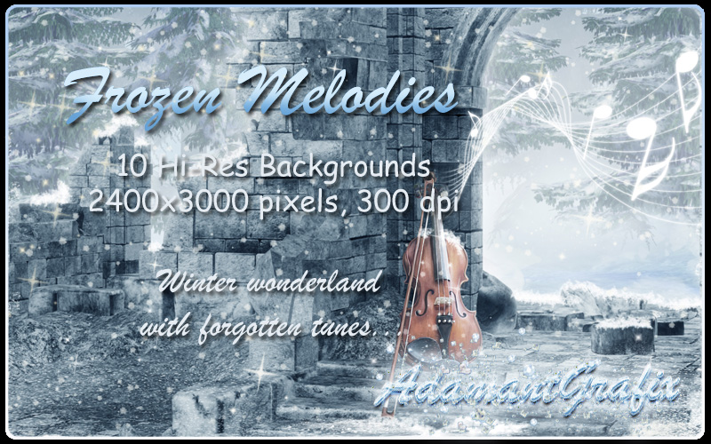 Frozen Melodies Backgrounds