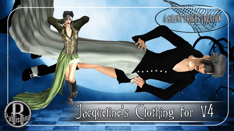 Jacqueline Outfit - Silent Fright V4,A4,G4,S4