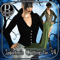 Jacqueline Outfit - Silent Fright V4,A4,G4,S4 Themed Clothing RPublishing