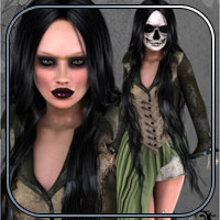 Jacqueline Outfit - Silent Fright V4,A4,G4,S4 image 5