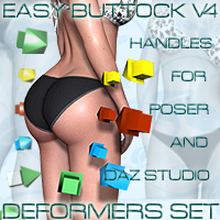 EasyButtock_V4 3D Figure Essentials kaposer