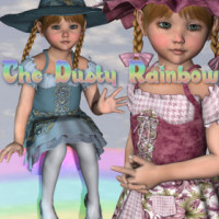 The Dusty Rainbow Themed Clothing JudibugDesigns