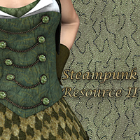 FS Steampunk Resource II Themed 2D And/Or Merchant Resources FrozenStar