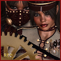 MISTRESS for SteamPunk Sally Clothing Themed renapd