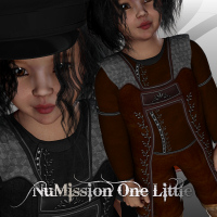 NuMissionOne_Little for K4 Themed Clothing Characters WhopperNnoonWalker-