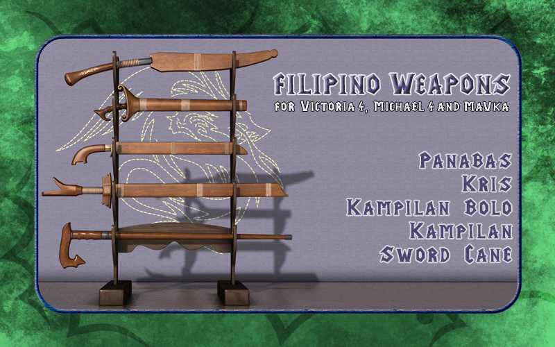 Filipino Weapons 01