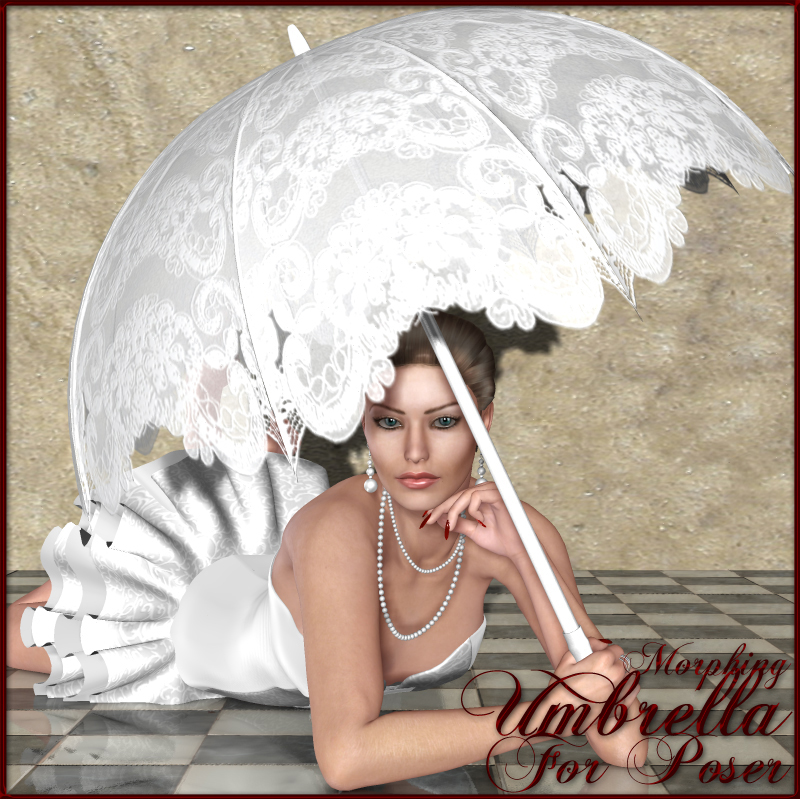 Nikisatez Umbrella for Poser