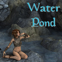 The Water Pond 3D Models 2D MatCreator