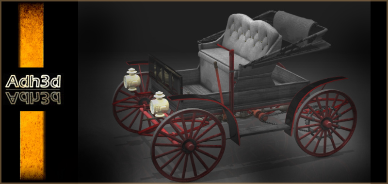 1908 Motor buggy by adh3d