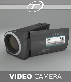 Video Camera By TruForm 3D Models TruForm