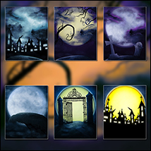 Silent Fright Backgrounds image 1