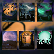 Silent Fright Backgrounds image 3