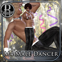 M4 Male Dancer Clothing Themed Props/Scenes/Architecture RPublishing