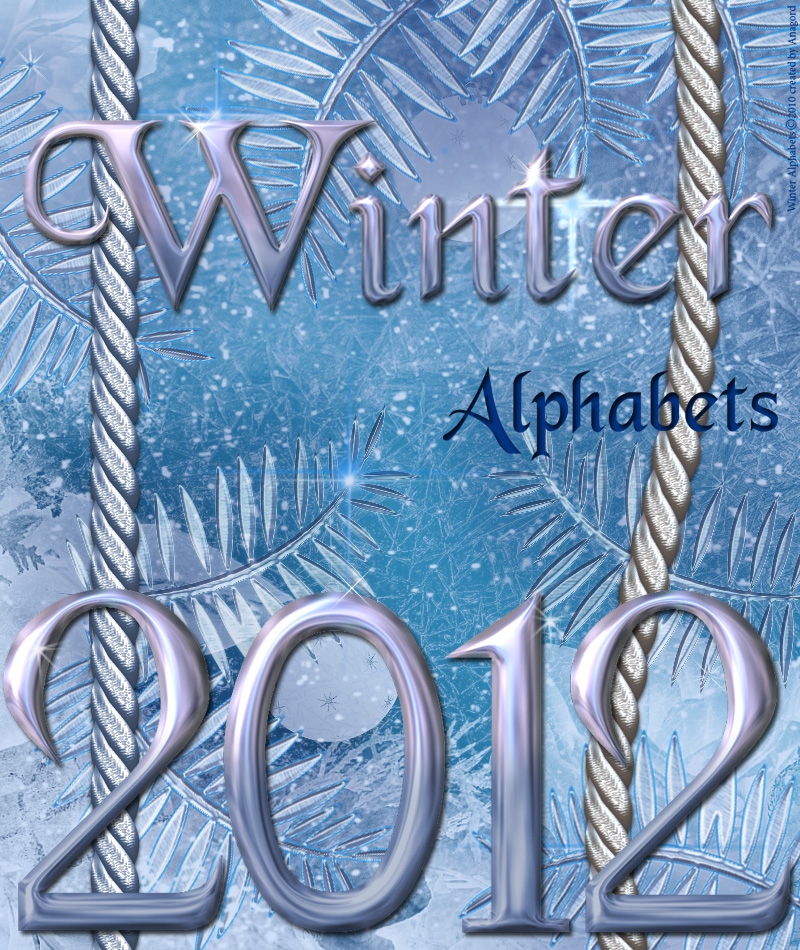 Winter Alphabets