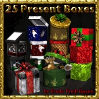 Present Boxes by FredaF