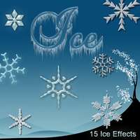 Ice Effects 2D Graphics sorayashams