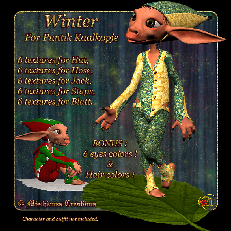Winter for Puntik