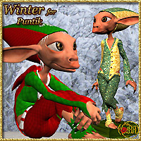 Winter for Puntik 3D Models 3D Figure Essentials misthemes