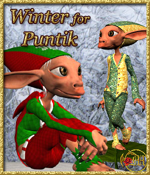 Winter for Puntik 3D Models 3D Figure Assets misthemes
