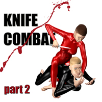 Knife combat - part 2 Props/Scenes/Architecture Poses/Expressions PainMD