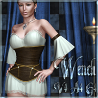 Wench V4 A4 G4 Clothing nikisatez