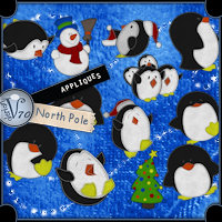 Appliques:North Pole 3D Models 2D Graphics Valerian70