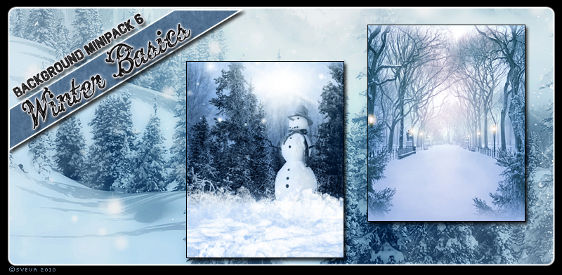 Background Mini-Pack 06: Winter Basics