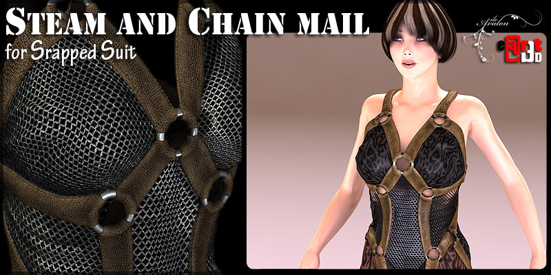 Steam and Chain mail for Strapped Suit