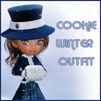 Winter Outfit For Cookie 3D Figure Assets Porthos